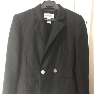 Bloomingdales linen blend blazer